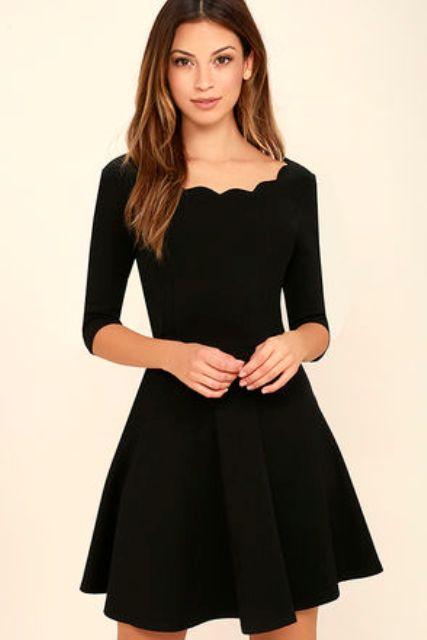 034900e97 Cómo lucir con vestido negro a la perfección y verte increíble