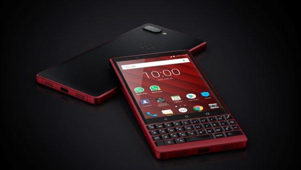 BlackBerry KEY2Red Edition es presentado en el Mobile World Congress 2019