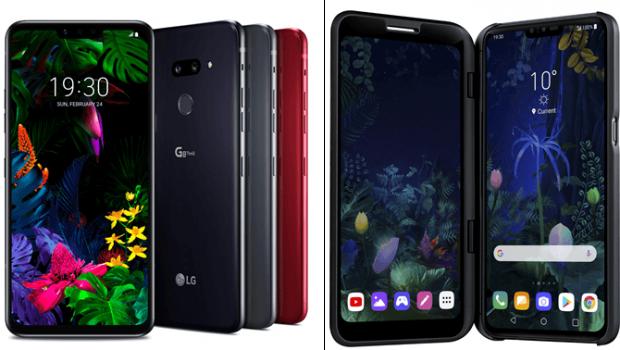 LG presentó en Barcelona los nuevos smartphones LG G8 ThinQ y LG V50 ThinQ 5G