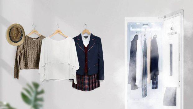 El nuevo LG Styler te ahorrara la tintorería manteniendo tu ropa limpia y fresca