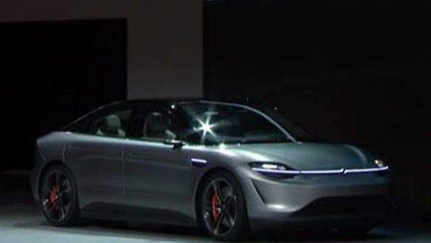 ¡Futurista! Así luce Vision-S, el primer auto eléctrico de Sony